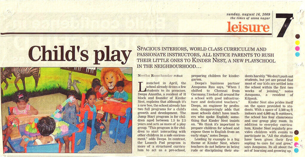 Times Of India Aug-18-2009